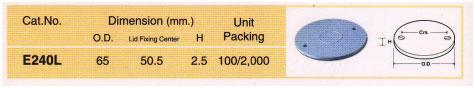 ฝากล่องพักท่อร้อยสายไฟฟ้าพีวีซี ( Clipsal - Lid for Junction Boxes)